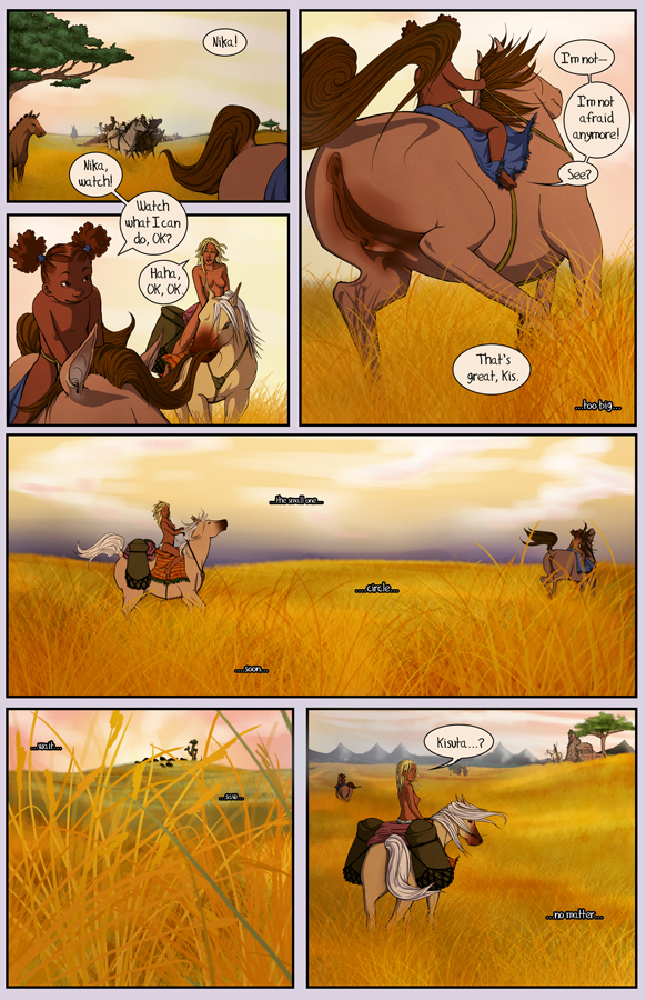 comics, webcomic, african, horses